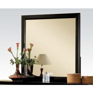 Louis Philippe III Mirror - Black