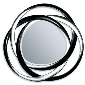 Black & Silver Accent Mirror