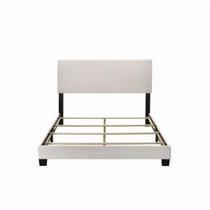 Lien Queen Bed - White PU