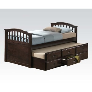 Twin bed & trundle