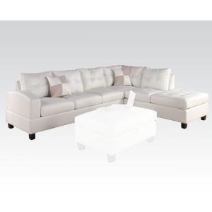 Kiva White Sectional Sofa