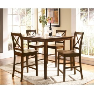 Martha 5 PC Counter Height Dining Set