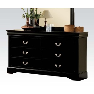 Louis Philippe III Dresser - Black