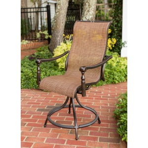 Sling Swivel Balcony Chair