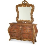 Double Dresser and Mirror
