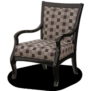 Group 2 Opt 1 Fabric Wood Chair