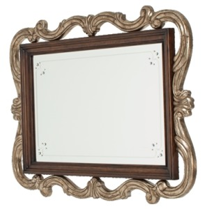 Platine de Royale Wall Mirror Light Espresso