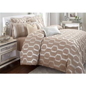 Como Comforter Set (10 pc B)