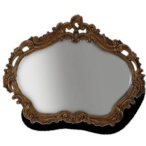Gold Leafed Sideboard Mirror