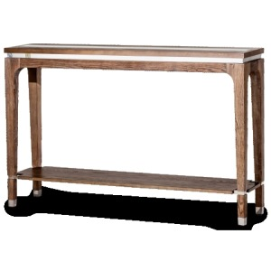 Biscayne West Console Table Haze