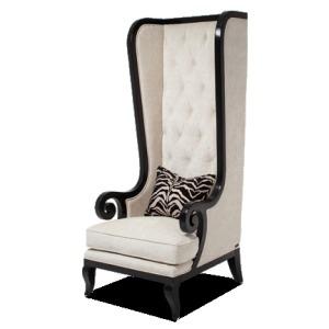 Foxie High Back Chair Opt1 Black Onyx