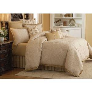 Carlton 10 pc King Comforte Set Ivory