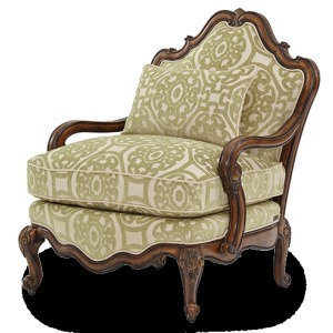 Bergere Wood Chair