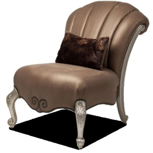 Armless Occasional Chair Opt1