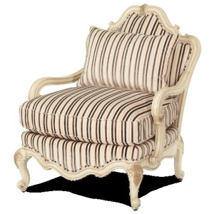Bergere Wood Chair - Opt2