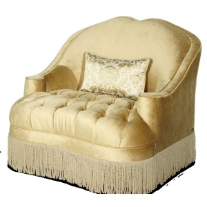 Tufted Chair and 1/2