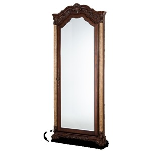 Accent Wall Mirror w/Storage