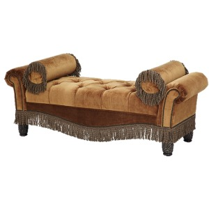 Tufted Two Arm Bench - Opt1
