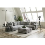 2 PC Sectional - Zaftig Dove