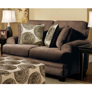 Groovy Chocolate Loveseat