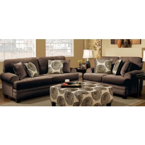 Sofa & Loveseat Set - Groovy Chocolate