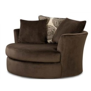 Groovy Chocolate Correlate Swivel Chair