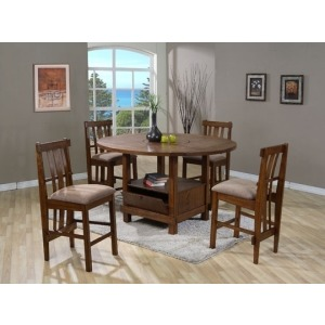 Square/Round Table with Removable Lazy Susan