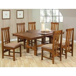 Country Truss Dining Table