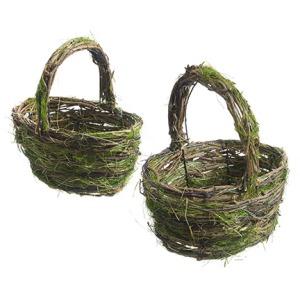 "8.5-11"" Twig Basket"