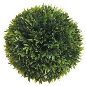 """8"""" Tea Leaf Ball with 188 Leaves Green"""