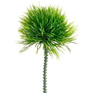"""6"""" Soft Touch Moss Grass Pick Green"""
