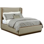 AD Modern Synergy Astro Upholstered King Bed