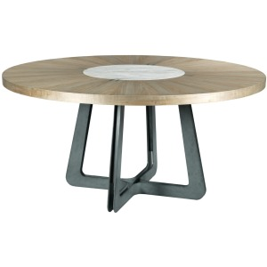 Concentric Round Dining Table
