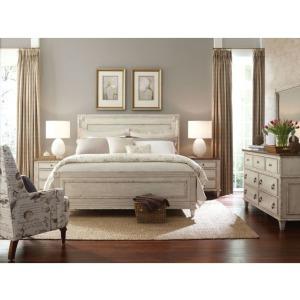 Southbury Bureau Mirror, Dresser & Queen Panel Bed & Nightstand