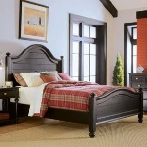 Camden Dark Panel Bed California King-King