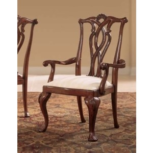 Cherry Grove 45th Pierced Back Arm Chair