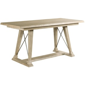 Clayton Counter Height Trestle Table - Complete