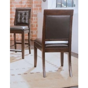 Tribecca Leather Side Chair