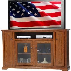 Oak Deluxe TV Stand