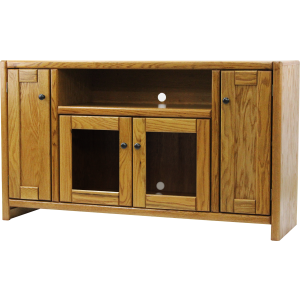 "Oak 55"" Contemporary TV Stand"