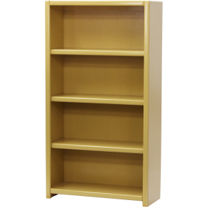 "Poplar 60"" Contemporary Bookcase"