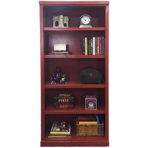 """Rustic 72"""" Bookcase"""