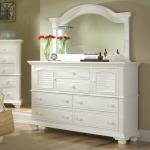 Cottage Traditions Triple Dresser & Mirror