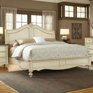 Chateau Sleigh Bed -King