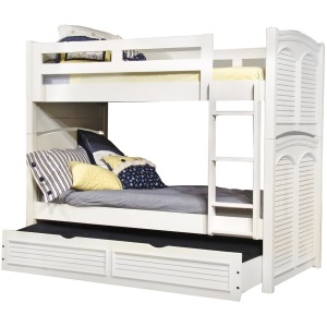 Cottage Traditions Twin/Full Bunk Bed W/ Trundle