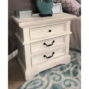 Stonebrook Three Drawer Nightstand