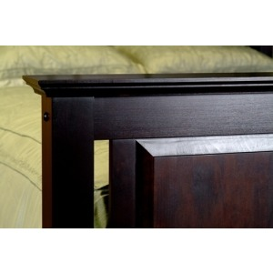 Lighthouse Low Footboard Bed, Queen Complete