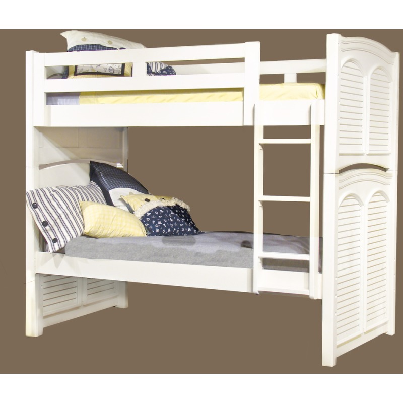 Amazing Cottage Traditions Twin Twin Bunk Bed W Trundle By American Best Image Libraries Counlowcountryjoecom