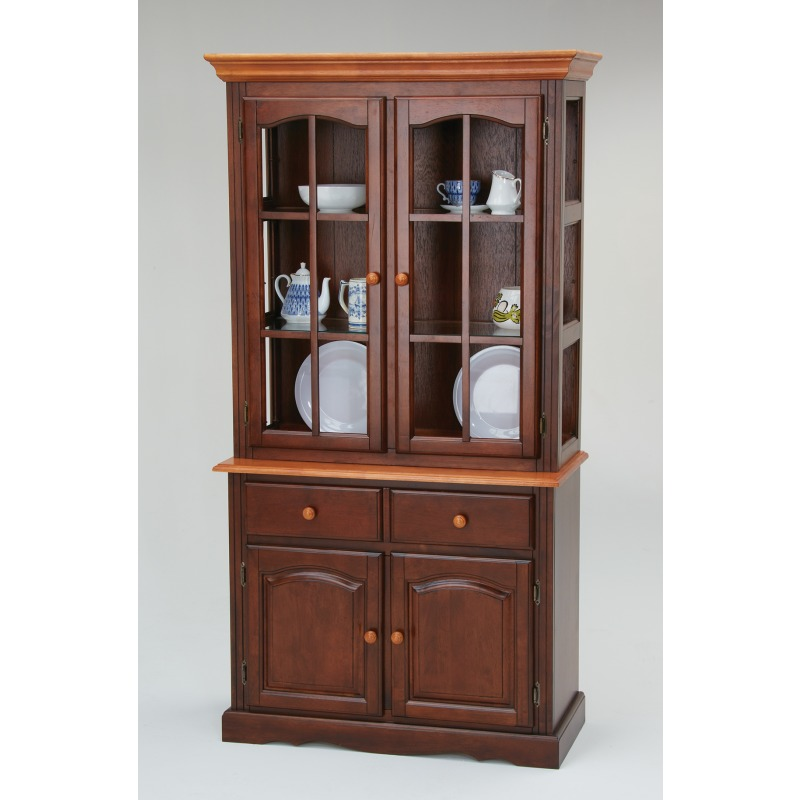Kensington 2 Door Curio Hutch Top