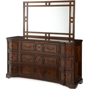 Bella Cera Dresser & Mirror